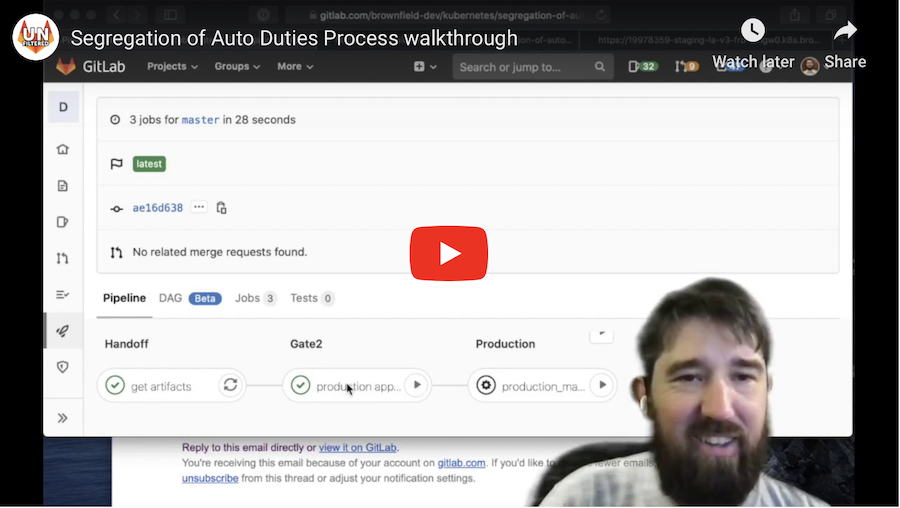 DevOps: Transition Path Video Walkthrough